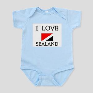 I Love Sealand Infant Creeper