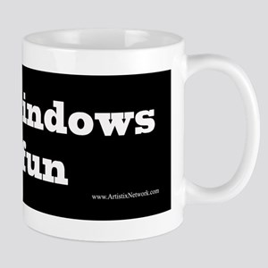 I lick windows Mug