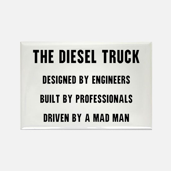 The Diesel Truck Rectangle Magnet