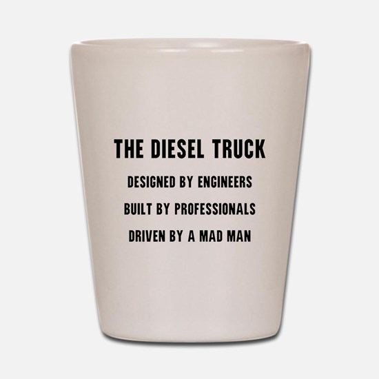 The Diesel Truck Shot Glass