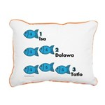 Counting in Tagalog Rectangular Canvas Pillow