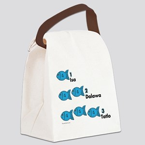 Counting in Tagalog Canvas Lunch Bag