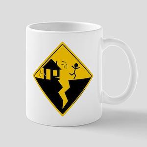 Earthquake Warning Mug
