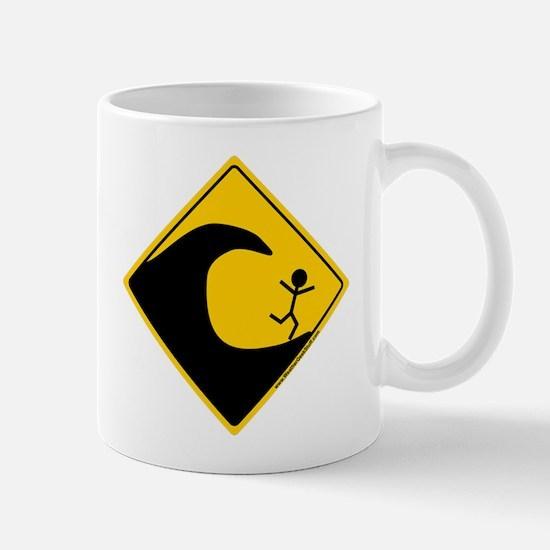 Tsunami Warning Mug