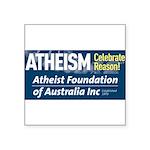 AFA Celebrate Reason Square Sticker 3