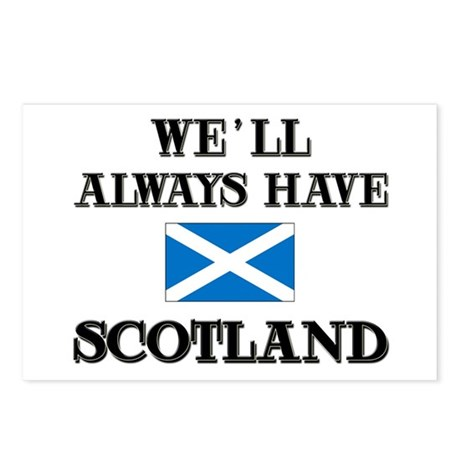 We Will Always Have Scotland Postcards (Package of