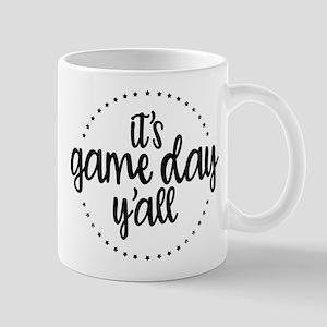 It's Game Day Y'all 11 oz Ceramic Mug