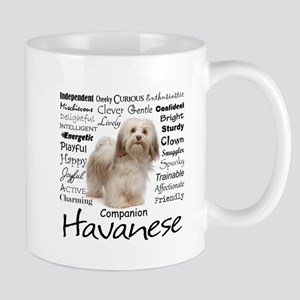 Havanese Traits Travel Mugs