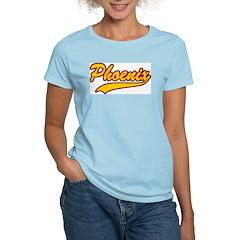 Retro Phoenix Women's Pink T-Shirt