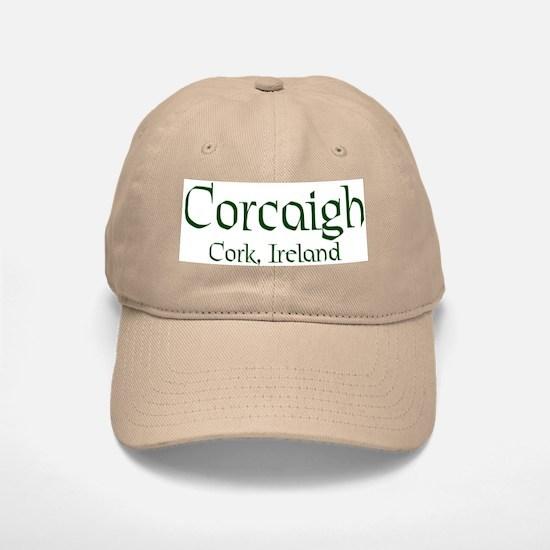 County Cork (Gaelic) Baseball Baseball Baseball Cap