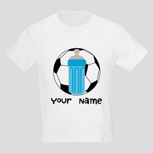 Personalized Future Soccer Star Kids Light T-Shirt