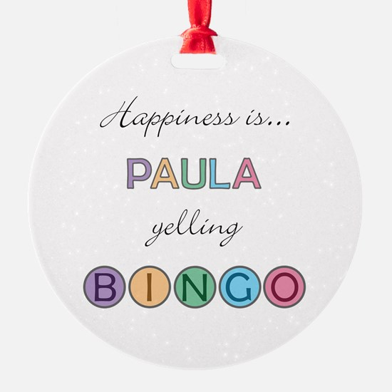 Paula BINGO Ornament