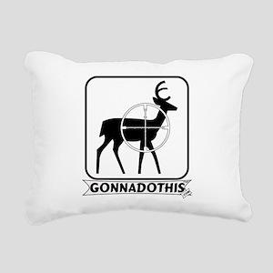 F-Gonnadothis-Deer hunting Rectangular Canvas