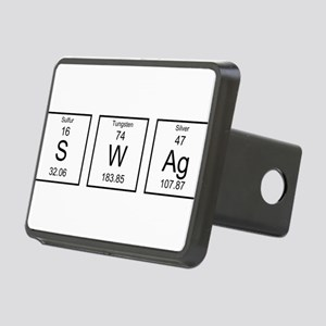 Periodic Table SWAg Rectangular Hitch Cover