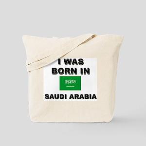 I Was Born In Saudi Arabia Tote Bag