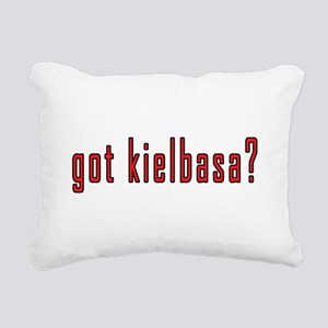 got kielbasa? Rectangular Canvas Pillow