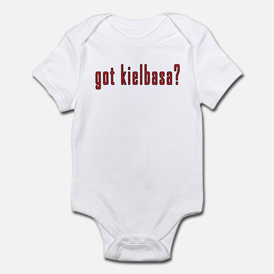 got kielbasa? Infant Bodysuit