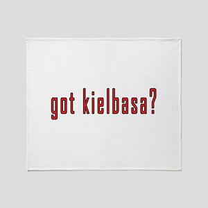 got kielbasa? Throw Blanket