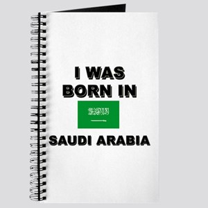 I Was Born In Saudi Arabia Journal