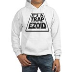 It's A Trapezoid Funny Pun Hooded Sweatshirt