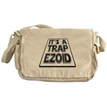 It's A Trapezoid Funny Pun Messenger Bag