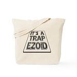 It's A Trapezoid Funny Pun Tote Bag