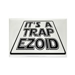 It's A Trapezoid Funny Pun Rectangle Magnet (10 pa