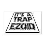 It's A Trapezoid Funny Pun Rectangle Car Magnet
