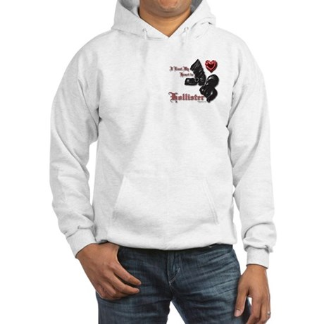 Hollister Valentine Hooded Sweatshirt