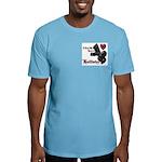Biker Valentine's Day Fitted T-Shirt