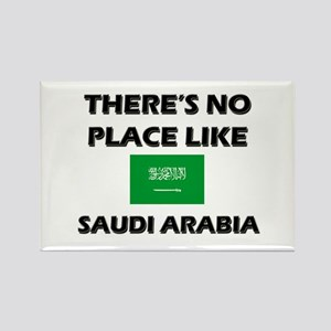 There Is No Place Like Saudi Arabia Rectangle Magn