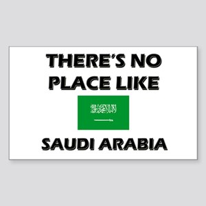 There Is No Place Like Saudi Arabia Sticker (Recta