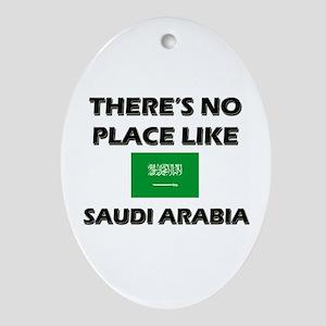 There Is No Place Like Saudi Arabia Ornament (Oval