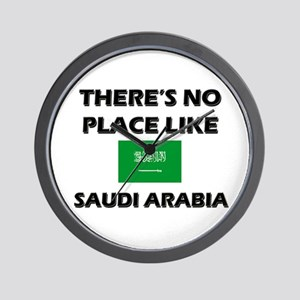 There Is No Place Like Saudi Arabia Wall Clock