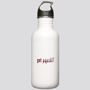 got paczki? Flag Stainless Water Bottle 1.0L