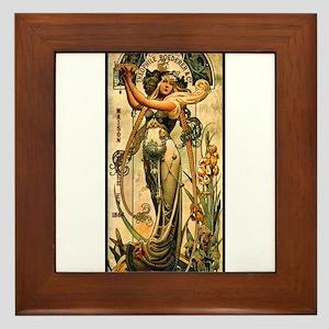 ART NOUVEAU Framed Tile