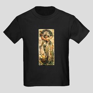 ART NOUVEAU Kids Dark T-Shirt