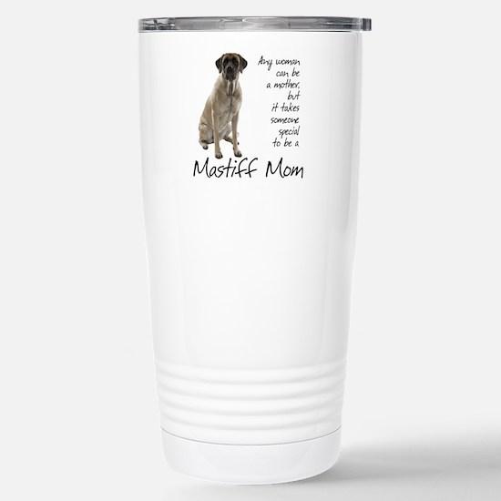 Mastiff Mom Stainless Steel Travel Mug
