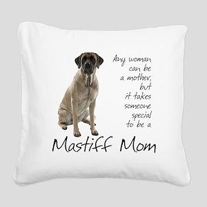 Mastiff Mom Square Canvas Pillow