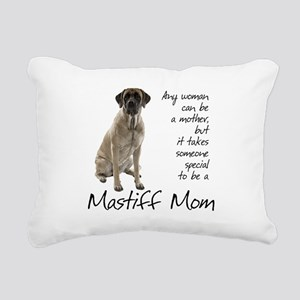 Mastiff Mom Rectangular Canvas Pillow