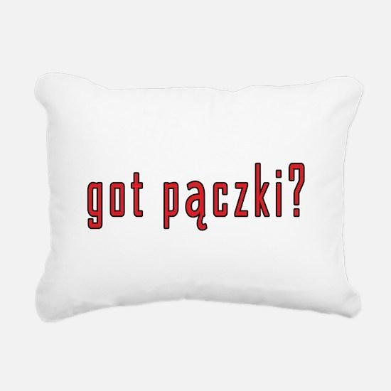 got paczki? Rectangular Canvas Pillow