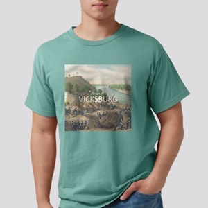 vicksburg Mens Comfort Colors Shirt