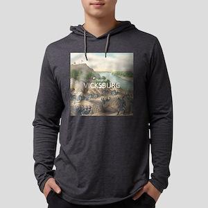 vicksburg Mens Hooded Shirt