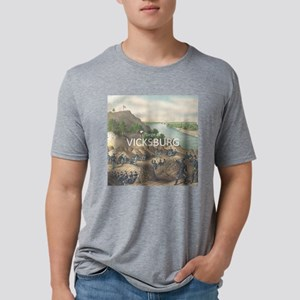 vicksburg Mens Tri-blend T-Shirt