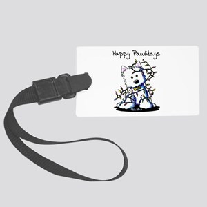 Pawliday Westie Large Luggage Tag