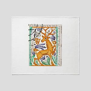1963 Czechoslovakia Deer Art Postage Stamp Stadiu