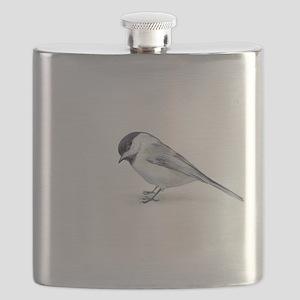 chickadee Flask