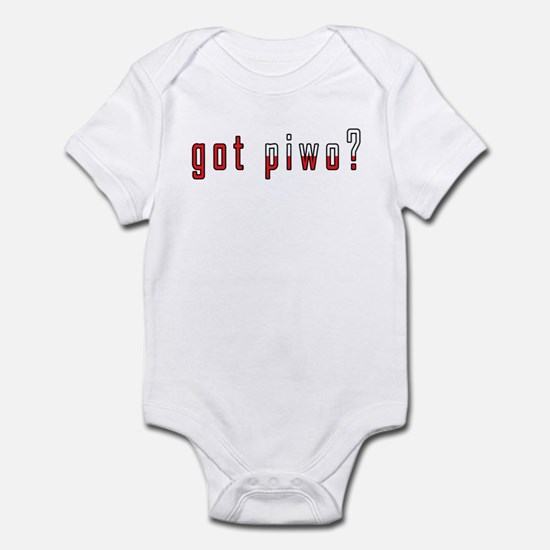 got piwo? Flag Infant Bodysuit