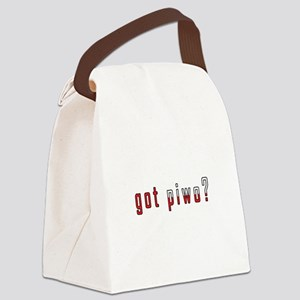 got piwo? Flag Canvas Lunch Bag