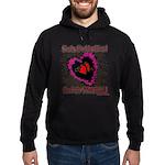 Valentine Fragile Heart Hoodie (dark)